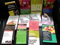 Social Work degree text books for sale