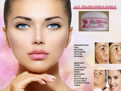 La Maravillosa crema  acne paño manchas nunn tia receta original care face