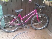 """LADIES BIKE 24"""" WHEELS HARDLY USED GREAT CONDITION"""