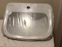 Armitage Shanks Planet 21 50cm Countertop basin with overflow - NEW