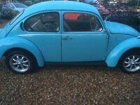 vw beetle 1977 s reg 1200