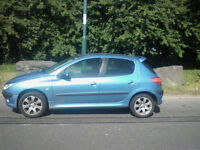 Blue Peugeot 2016 Good Condition £400 o.n.o