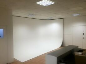 CHEAP Professional Photo Video Studio Hire INFINITY COVE Photography Filming Space Docklands LONDON