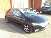 HONDA CIVIC ES 2.2 DSL 5DR,1 OWNER,HPI CLEAR,NEW CLUTCH & FLYWHEEL,1 YEAR M.O.T