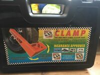 SAS INSURANCE APPROVED WHEEL CLAMP