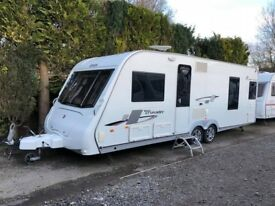 2011 Elddis Crusader Super Sirocco 4 Berth caravan FIXED BED AWNING BARGAIN !