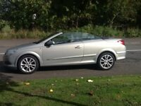 ASTRA CONVERTIBLE 2007 VAUXHALL ASTRA DESIGN CONVERTIBLE BARGAIN BUY,FAULTLESS MECHANICALLY,MUST SEE