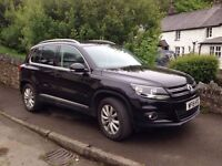 2015 VW TIGUAN MATCH 2.0 TDI. (4wd) BMT 177ps 4 MOTION 6 - SPEED MANUAL. 14,100 miles.