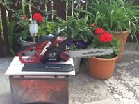 Einhell petrol chainsaw as new never used