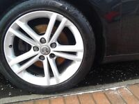 4 x Vauxhall Insignia Alloy Wheels WithTyres