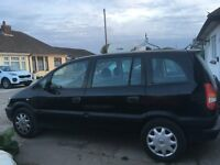 VAUXHALL ZAFIRA 7 seater 11 months MOT full service history and reciepts 1.8
