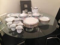 crown n ming fine bone china dinner set