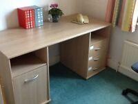 3 draw desk excellent condition