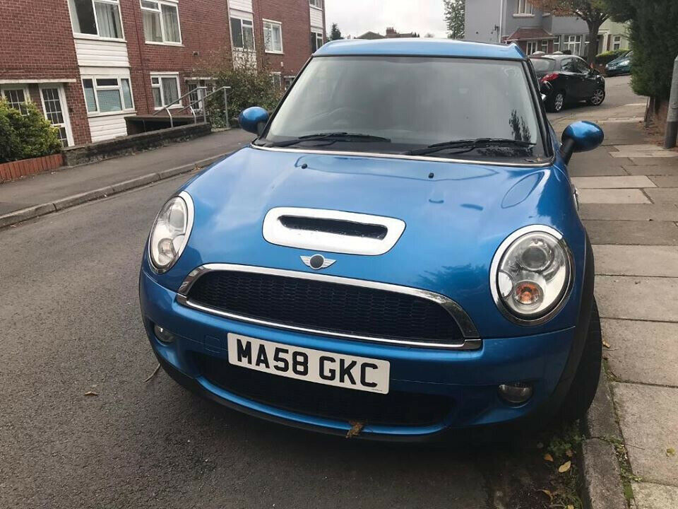 2008 58 Mini Cooper Clubman S Petrol 1 6 59930 Milage Sports Half Leather 5 Seats Or Swap
