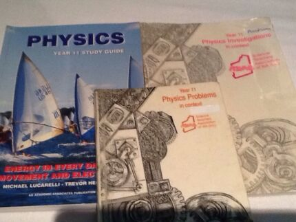 Year 11 Physics Text Books and Study Guide Glen Forrest Mundaring Area Preview