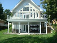 Waterfront Home for Sale - St Lawrence River -1h45 from Kingston