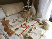 Full NURSERY Set start Bundle - Zeddy & Parsnip from Mamas & Papas