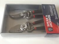 Secateurs set