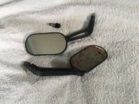 Pair of mirrors to fit most Honda motorcycles