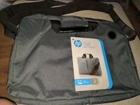 """HP Laptop Bag for 15.6"""" Laptop. Grey and Black Brand New"""