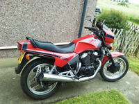 Classic Honda VT500 Eurosport 500cc. Very Low Milage. (And another for spares if you want it...)