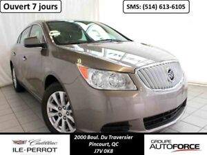 2011 BUICK LACROSSE CX BLUETOOTH, MAGS, DEMARREUR A