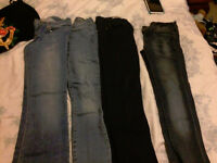 Ladies jeans and trousers