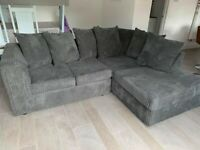 ¬¬ SAME DAY & NEXT DAY DELIVERY AVAILABLE ¬¬ NEW BYRON JUMBO CORDED CORNER SOFA OR 3+2 SOFA SET