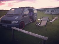 Mercedes Vito self-build camper - READY TO USE!