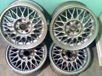 GENUINE BBS RIMS 4x100[price reduced]