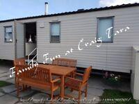 Family 8 Berth Caravan to Let at Craig Tara, Ayrshire