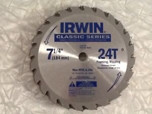 Irwin skill saw blades brand new