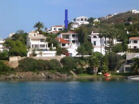 Menorca waterfront villa for rent- July 1 week left at special price! Private pool.