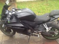 Bargain 2014 Yamaha yzfr 125 with 180 kit fitted