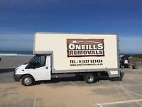 House Removals, Local & National, Large Luton Van and LWB Transit Van