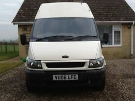 LWB, high roof, panel van, 3 local owners, service history, tow bar, good condition