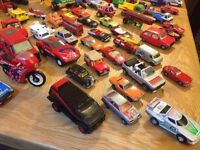Vintage to Modern Diecast Cars and Vehicles over 200 Vehicles.