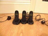 Motorola C1001LB Digital Cordless Phone Black