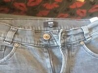 GENUINE HUGO BOSS JEANS BOYS SIZE 14s paid £110 accept £35