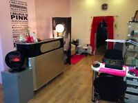Manicure Table/Makeup Space available for rent