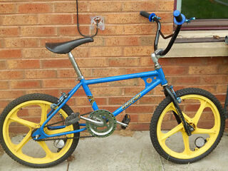raleigh tuff burner coaster tab frame old school bmx 80`s