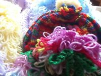 Brand new hand knitted tea cosy