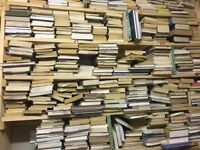 Used books for free, I have approx 4000 books to give away.