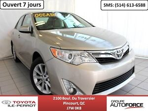 2014 Toyota Camry XLE V6, CUIR, TOIT OUVRANT, NAVI, BLUETOOTH+++