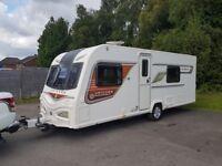 2014 Bailey Unicorn Valencia 4 Berth caravan FIXED BED, MOTOR MOVER, Bargain ! January Sales