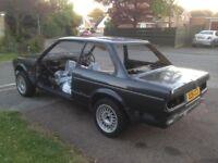 BMW E30 325 i Sport manual Body shell Tech 1 project parts