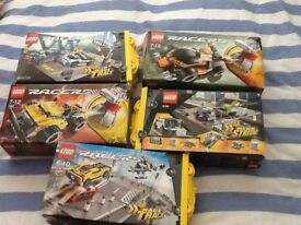 Lego Racers in original boxes.