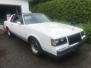 1987 buick regal turbo t (grand national)
