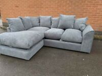 FACTORY-PACKED LEALON FABRIC CORNER SOFA AND 3+2 SOFA SET AVAILABLE