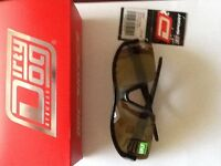 Dirty Dog Sports Sunglasses.New,box,carrying case,guarantee,retail price £49.99. great for sports.